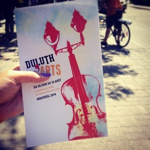 Duluth en' Arts flyer
