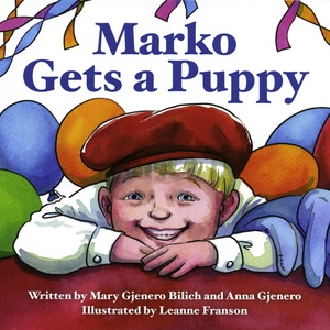 Marko Gets a Puppy book cover