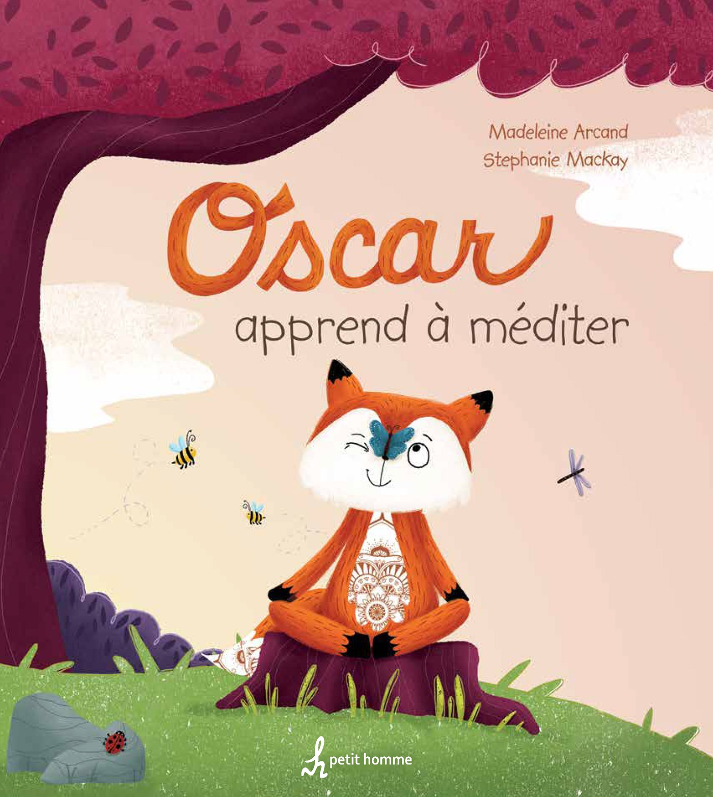 Stephanie Mackay - Oscar apprend a mediter_couverture une