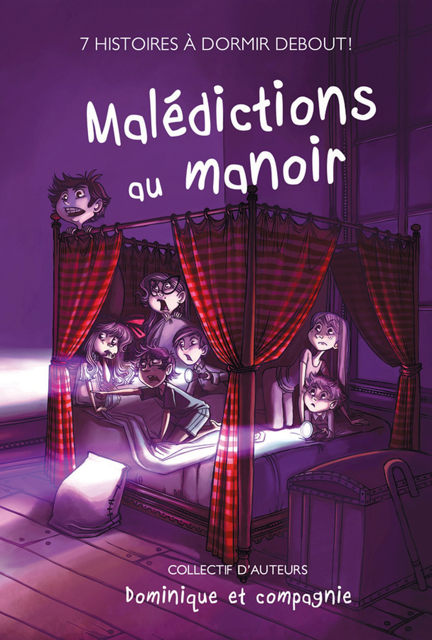 Annie Rodrigue - Malédictions au Manoir - Couverture
