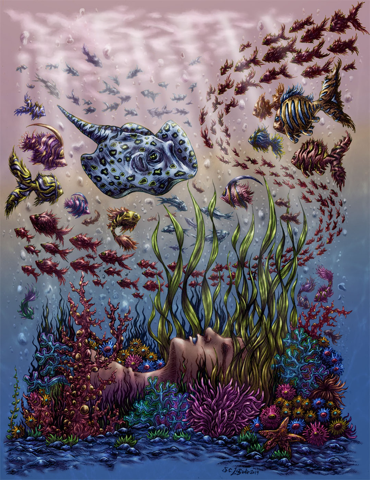 Simon LaBadie Chartrand - Underwater - Drowning in Beauty