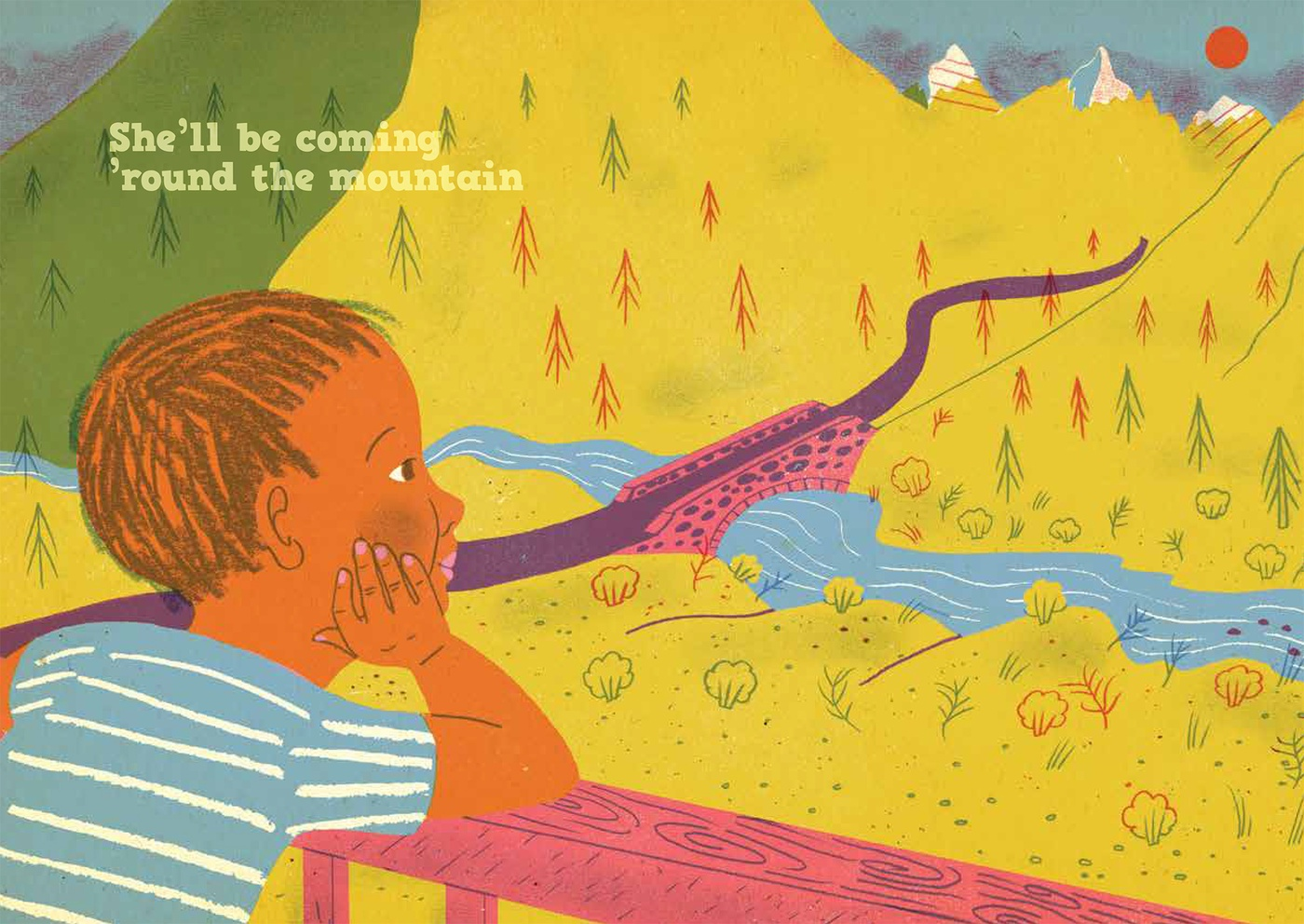 Sophie Casson - She'll Be Coming Around The Mountain