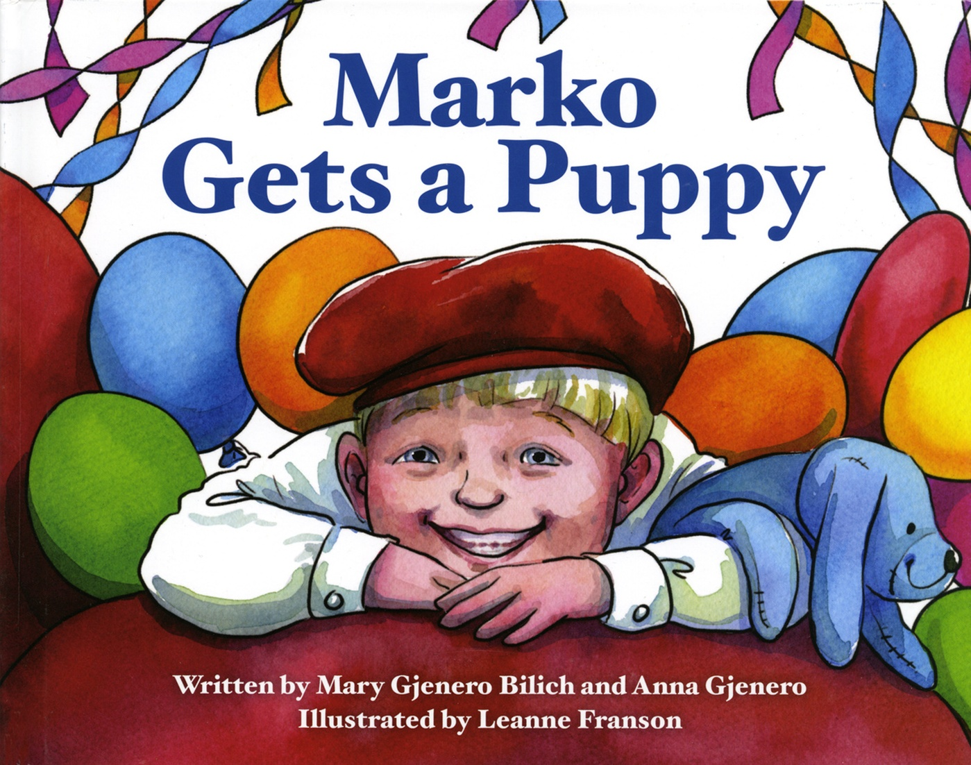 Leanne Franson - Marko Gets a Puppy book cover