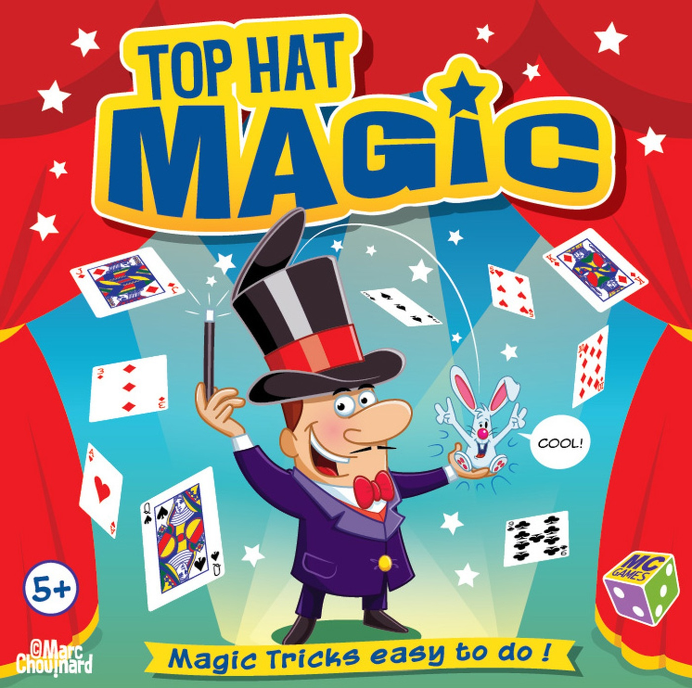 Marc Chouinard - top hat magic