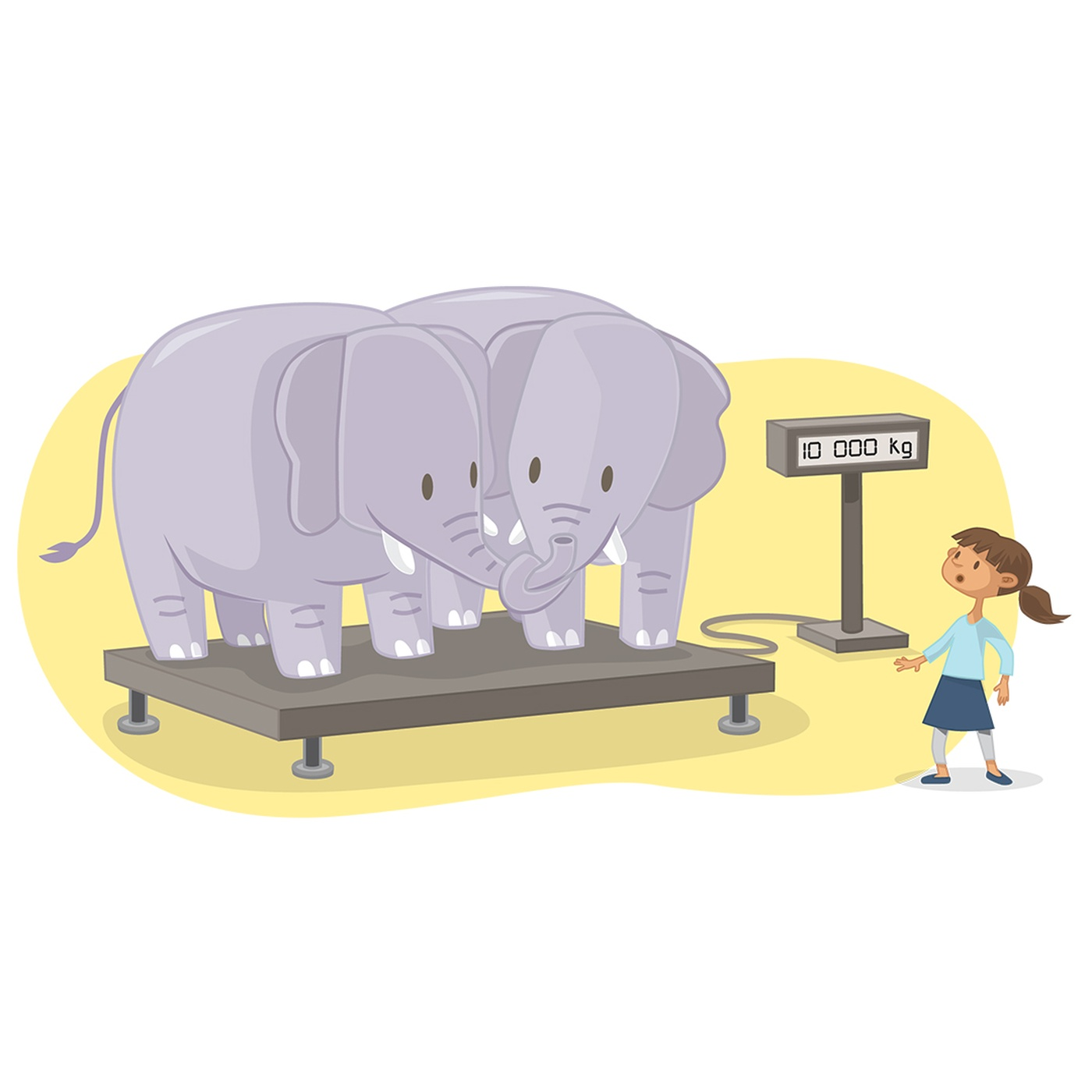 Pascale Constantin - How Much Do Elephants Weigh?