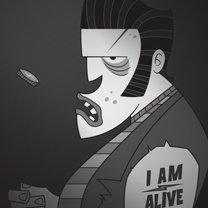 I am alive | Frankenstein's Monster - Illustration
