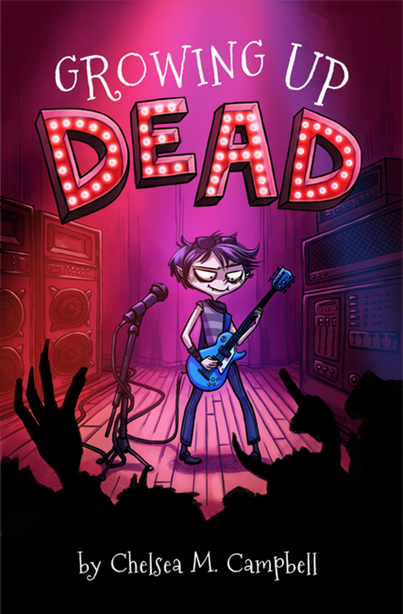 Annie Rodrigue - Growing Up Dead - Couverture
