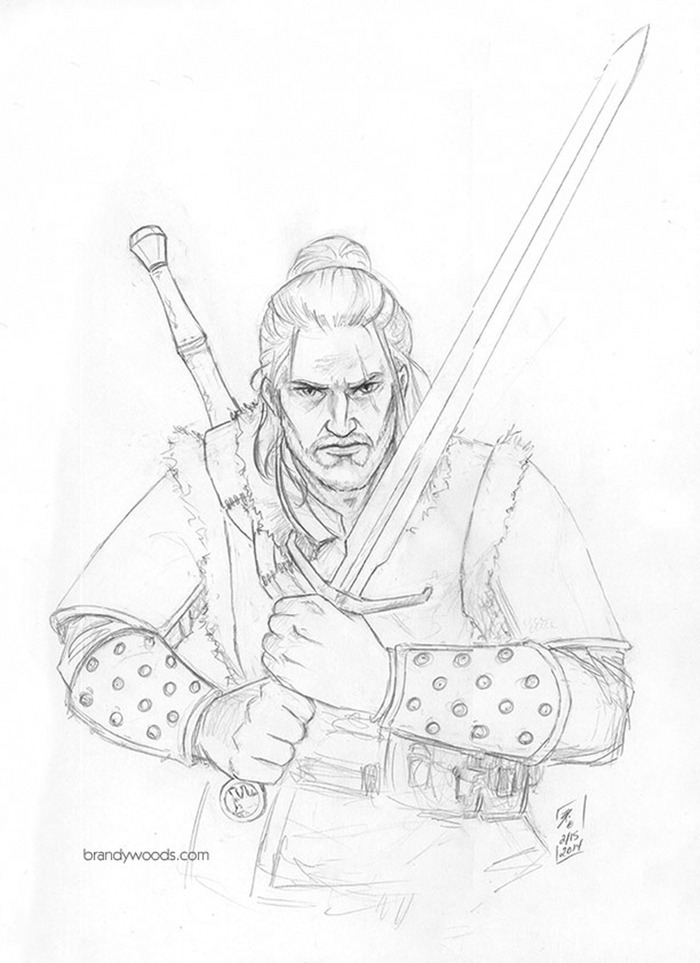 Brandy Woods - Geralt of Rivia