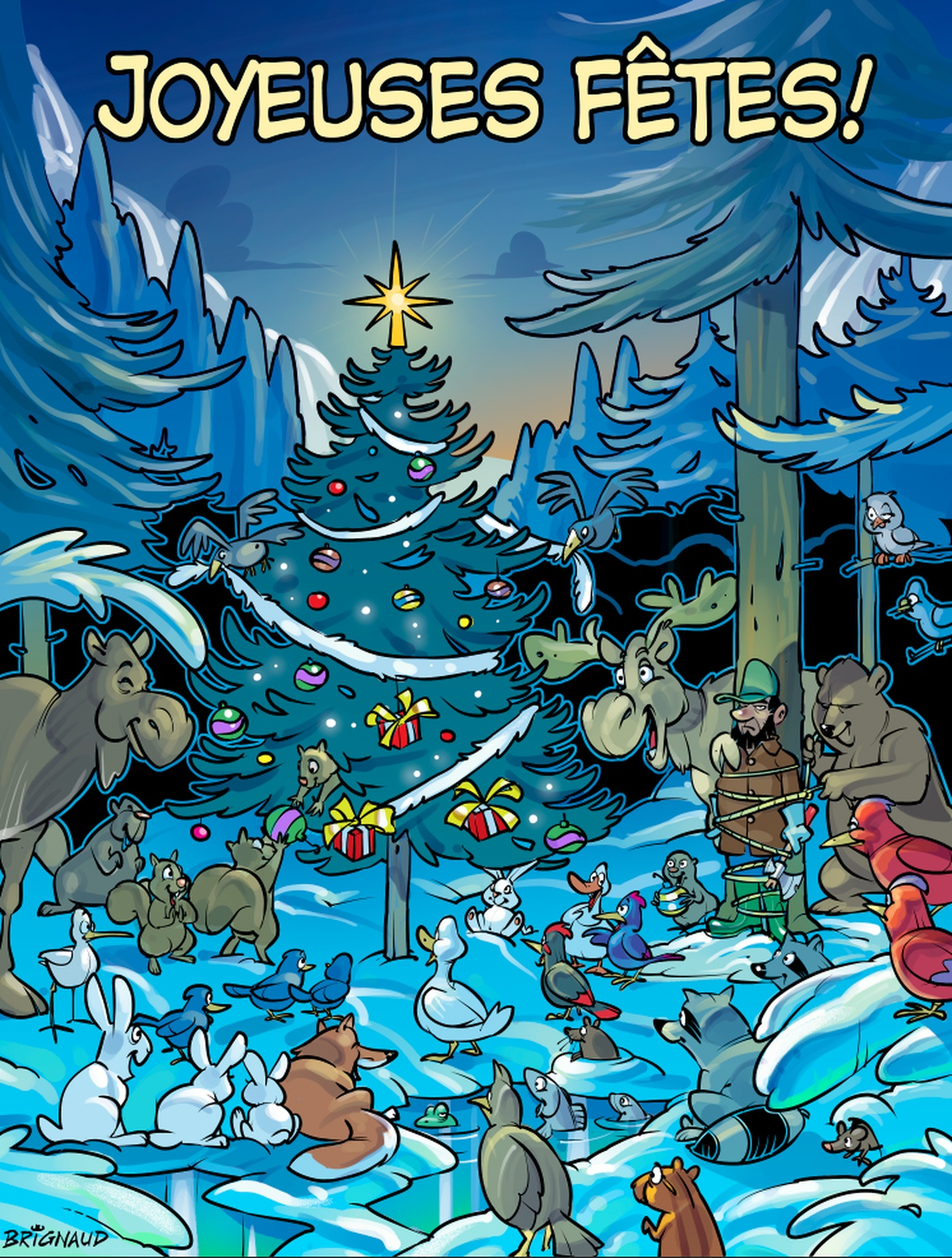 Brignaud - carte