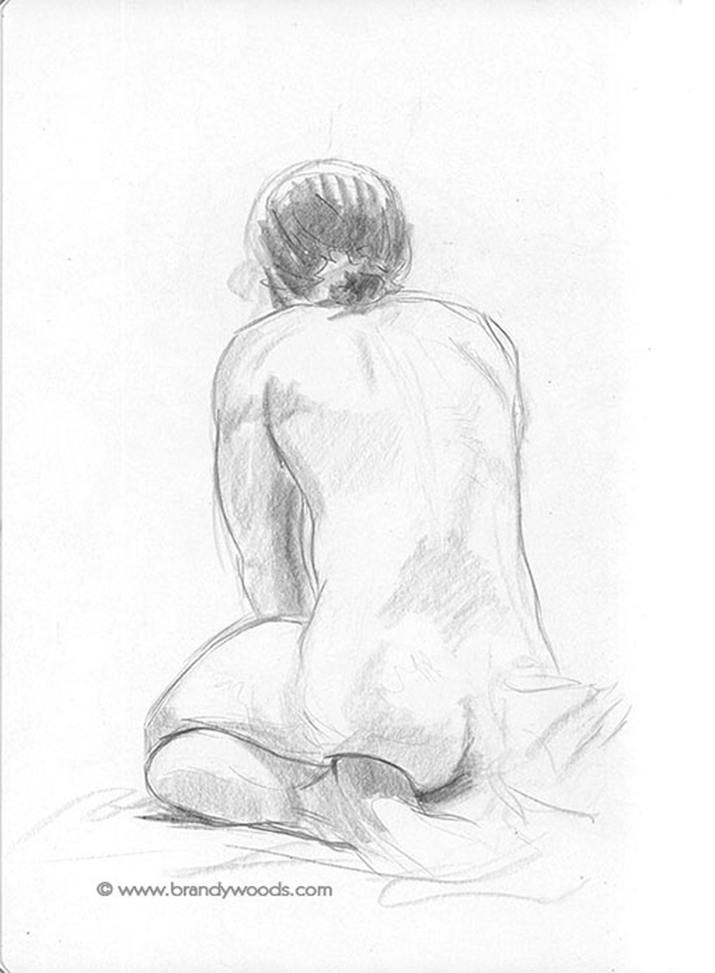 Brandy Woods - Life Drawing