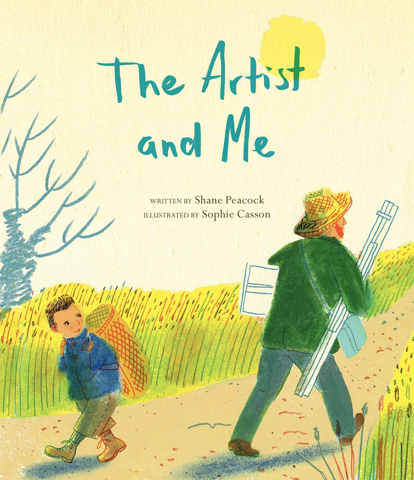 Sophie Casson - The Artist and Me