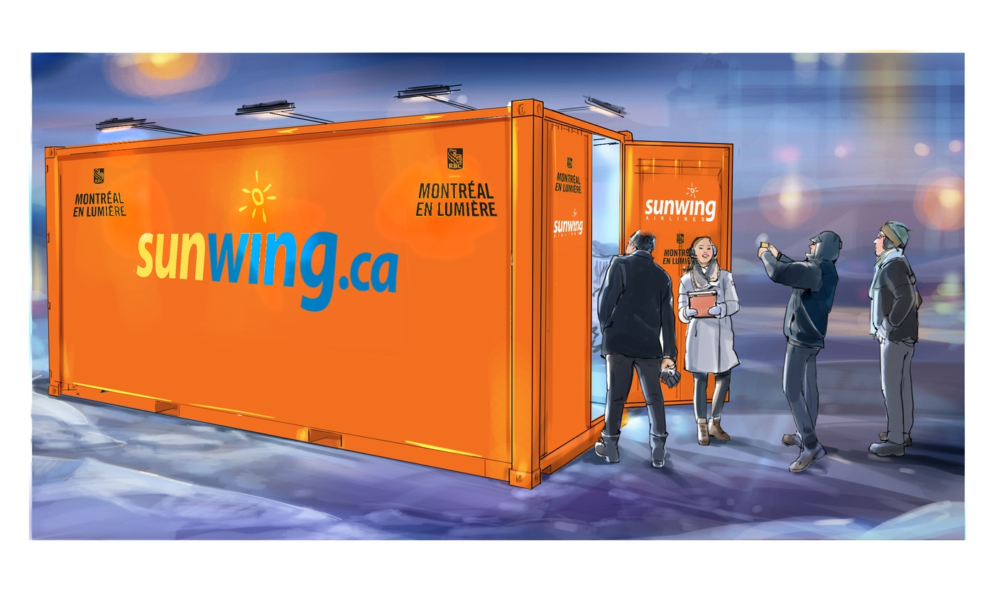 François Couture -  container sunwing 1