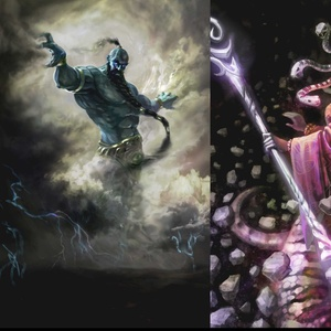 Might and Magic card game concept art