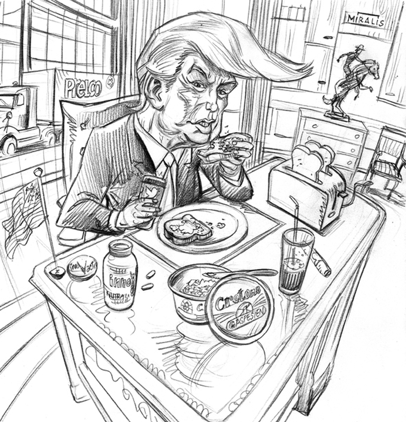 Simon Dupuis - sketch-trump-lower
