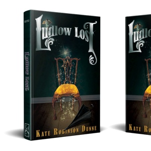 Ludlow Lost Hardcover Mockup
