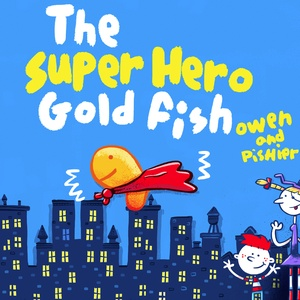 Page1:The Super hero goldfish