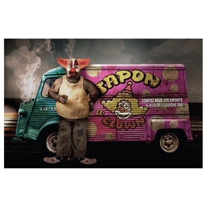 Tapon le clown – Projet personnel