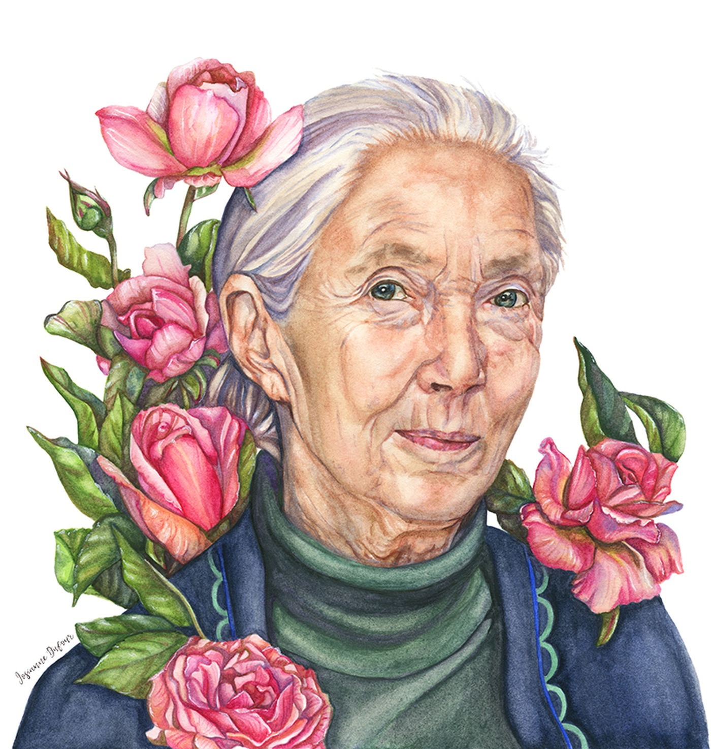 Josianne Dufour - Portrait de l'anthropologue Jane Goodall