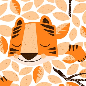 Dors bien petit tigre - Sleep Tight Tiger