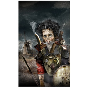 Don Quichotte steampunk – Projet personnel