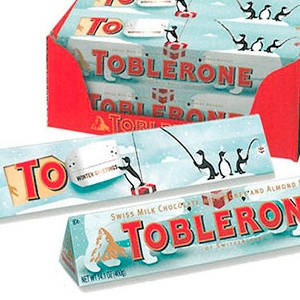 Produit final - Toblerone 400gm